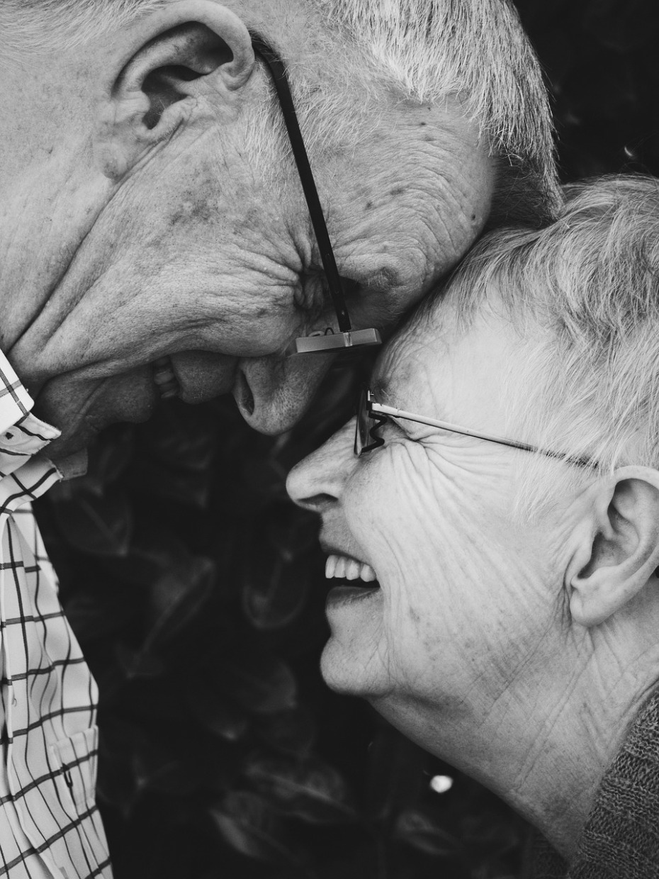 Love, old, old age, anniversary, marriage