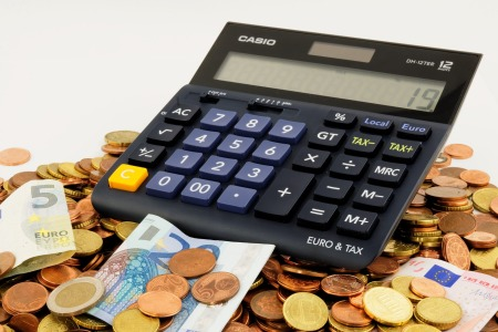 Money calculator euros