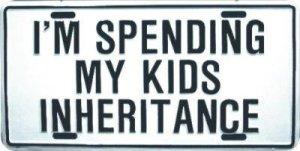 inheritance money life sign
