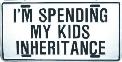inheritance money life sign