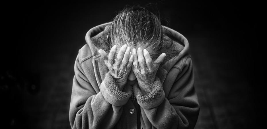 Woman Despair Sad Mental Health